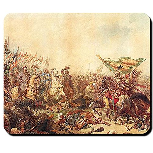 Turkish War Sobieski near Vienna Ottoman Empire Peace of Karlowitz Ottoman Battle - Mouse Pad / Mousepad