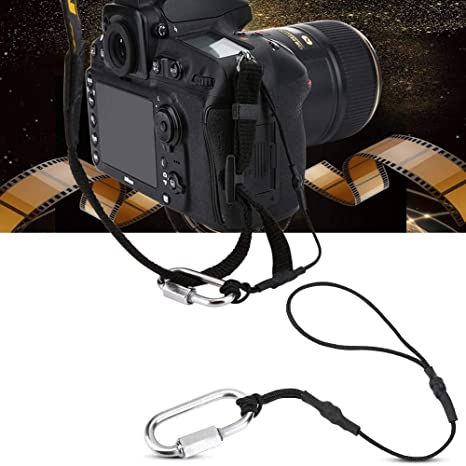 2pcs Camera Safety Tether Strap for DSLR Canon Nikon Sony Pentax Olympus and Any Camera Straps