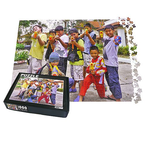 1000 Piece Personalized Custom Photo Jigsaw Puzzle, 20x28in. Upload Your own Image and Text