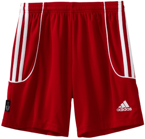 adidas Big Boys'  Squadra Ii Short,University Red, White,Small