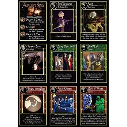 neca trading card game the nightmare before christmas box 36 packs - Christmas Card Games