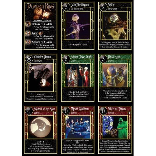 Amazon.com: Neca Trading Card Game - The Nightmare Before ...