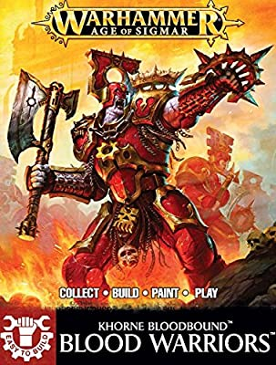 Warhammer Age of Sigmar Easy to Build Khorne Bloodbround Blood Warriors from AGD