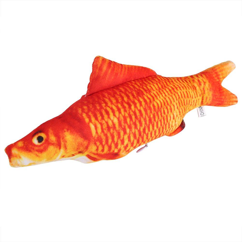 Amazon.com: gloglow carpas 3d peces forma simulación cojín ...