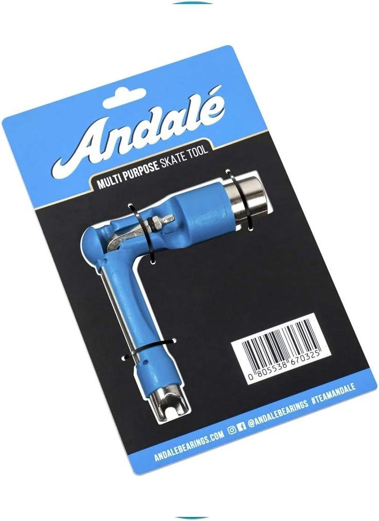 Andale Skateboard Multi Purpose Skate Tool Blue