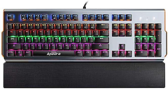 JUNERAIN APEDRA MK-X90 - Teclado mecánico para Videojuegos ...