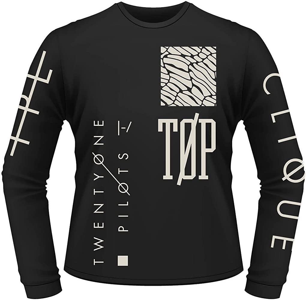 Plastic Head Twenty One Pilots Emblem LS, Top para Hombre, Negro (Black), Medium: Amazon.es: Ropa y accesorios