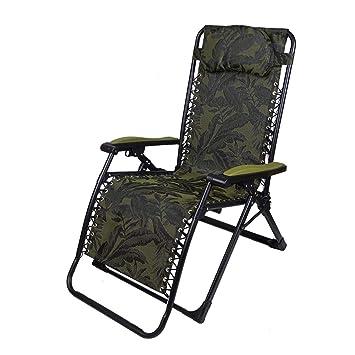 SHUSHI Sillas reclinables Plegables, sillas de Siesta Que se ...