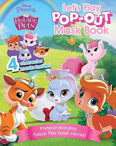 Palace Pets Let's Play Pop-Out Mask Book (Disney