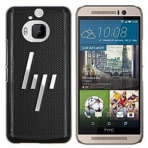 LECELL--Funda protectora / Cubierta / Piel For HTC One M9Plus M9+ M9 Plus -- Líneas minimalistas --
