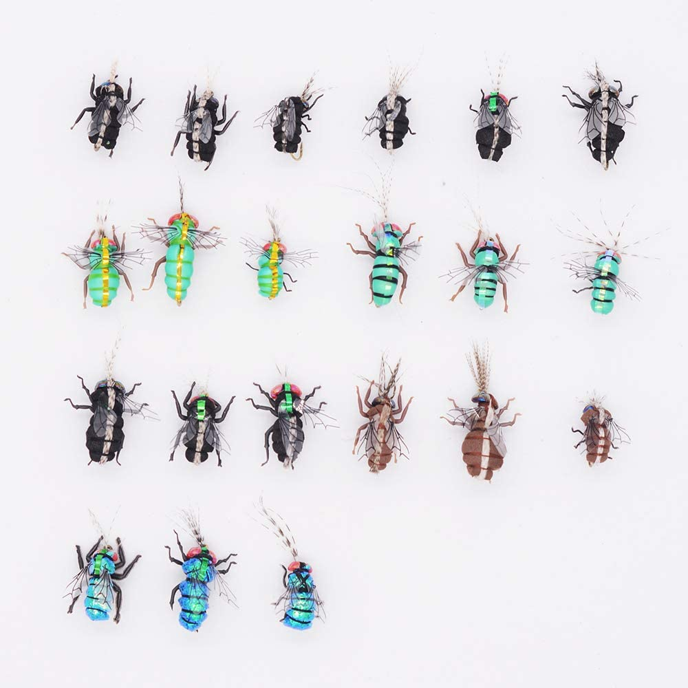 Flyafish Mosquito Housefly Dry Fly Fishing Lure Stream Trout Fishing