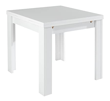 Mesa de comedor extensible Mary 2 Blanco: Amazon.es: Hogar