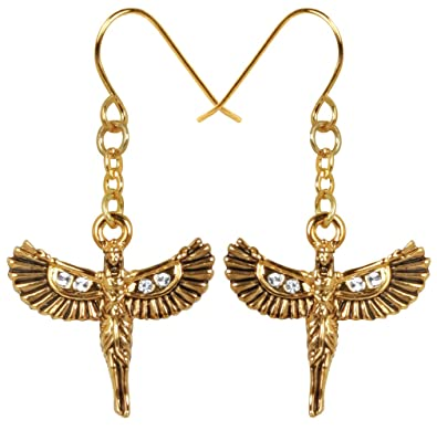 aju egyptian university nk ancient earrings