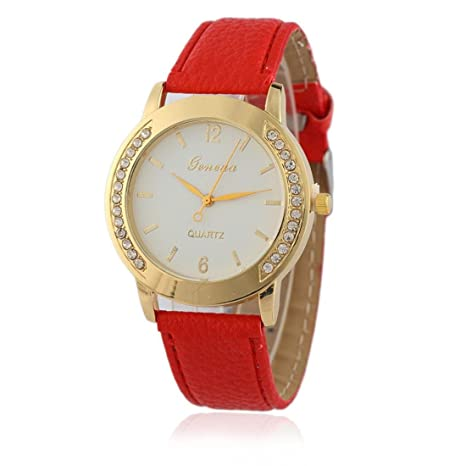 Z YQ Mujer Reloj de Moda Reloj de Pulsera Simulado Diamante Reloj Cuarzo La  Imitación de d9772bc4d126