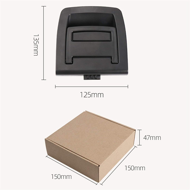 XUNGED ABS Voiture Coffre Arri/ère Couvercle Inf/érieur Plaque Tapis De Sol Tapis Poign/ée Auto Accessoires for BMW X5 E70 E71 X6 2006-2013 51476958161 Color : Beige No Lock Hole