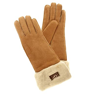 UGG Australia Women's Classic Turn Cuff Glove,Chestnut ...