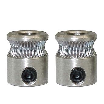 Engranaje extrusor de accionamiento directo MK8, filamento de 1,75 ...