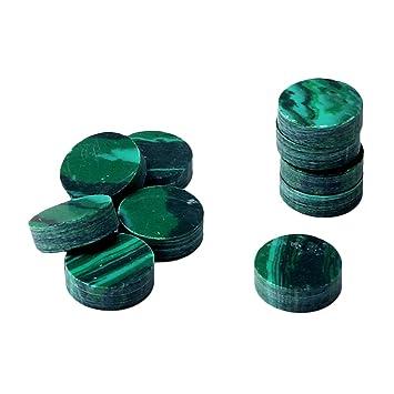 homyl 10 piezas Lunares con puntas Pegatina 2 mm para teclado de guitarra