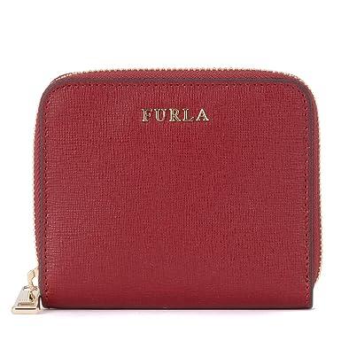 32d20406d823 Furla Portefeuille Babylon en cuir rouge cerise  Amazon.fr  Vêtements et  accessoires