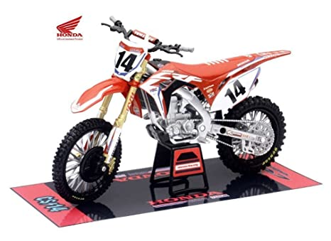 Amazoncom New 112 New Ray Motorcycles Collection Honda Crf450r