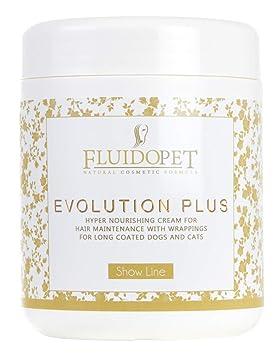Fluidopet Evolution Plus Crema ipernutriente para el Mantenimiento del Pelo de Perros y Gatos A Manto