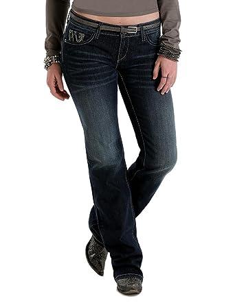 21bfca377a8 Cruel Girl Women s Blake Western Slim Jeans Boot Cut - Cb49654071 at ...