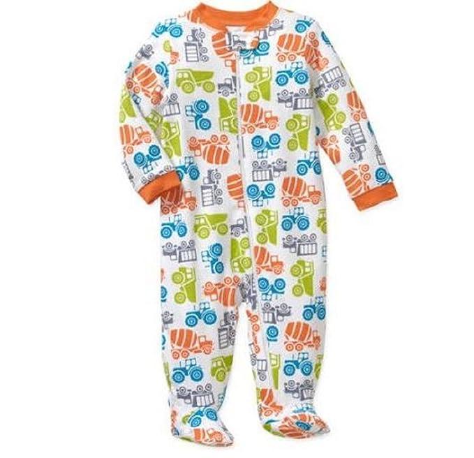 62bc0f7d9 Garanimals Baby Boy Sleepers Footed Sizes Newborn - 12 Month (0-3 ...