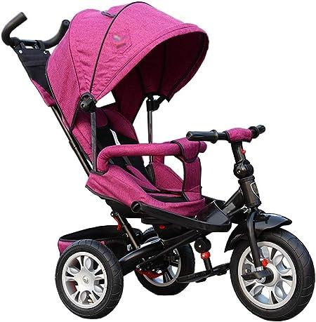 Bicicleta de Triciclo para Cochecito de bebé 3 en 1 Rápido Doble ...