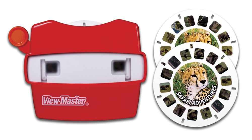 View Master Classic Viewer with 2 Reels Safari Adventure Toy Package May Vary by View Master