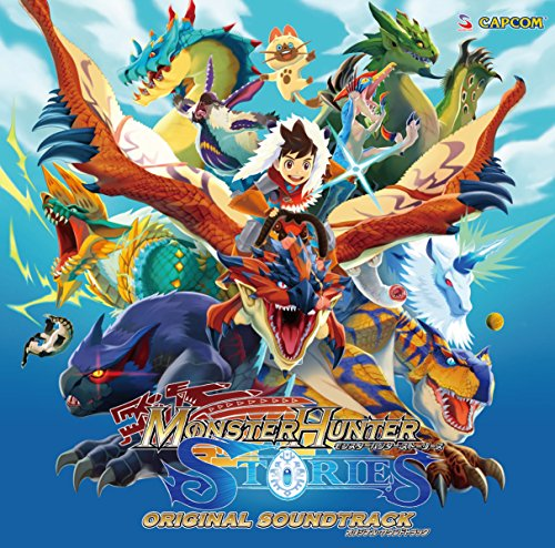 Price comparison product image Game Music - Monster Hunter Stories Original Soundtrack (2CDS) [Japan CD] CPCA-10425