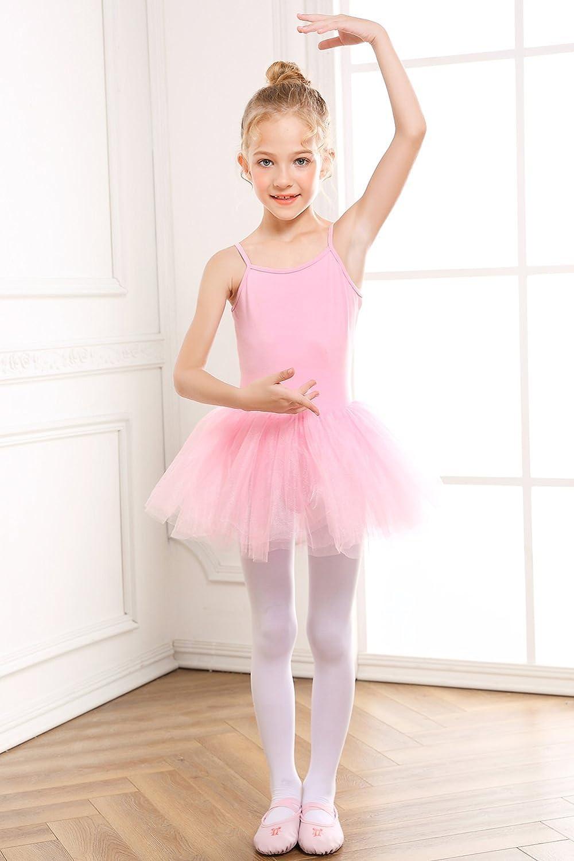 b0073f1dd Amazon.com  STELLE Girl s Cotton Camisole Dress Leotard for Dance ...
