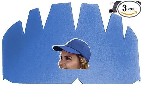 bbb8060e193 Amazon.com   3Pk. Light Blue Baseball Caps Inserts