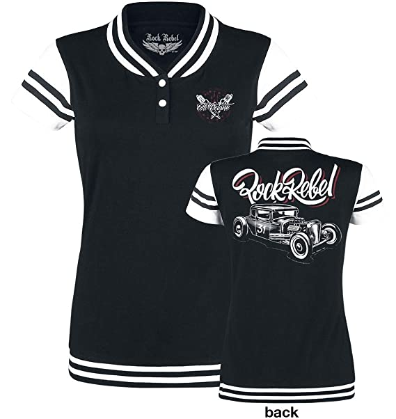 Rock Rebel by EMP School Day Camiseta Negro: Amazon.es: Ropa y accesorios