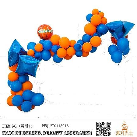 Juego de globos serie deportiva fútbol baloncesto látex película ...