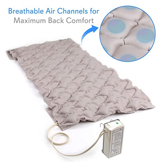 Amazon.com: Pressure Mattress Air Bubble Pad - Includes Electric Pump System Quiet, Inflatable Bed Air for Pressure, Ulcer and Pressure Sore Treatment ...