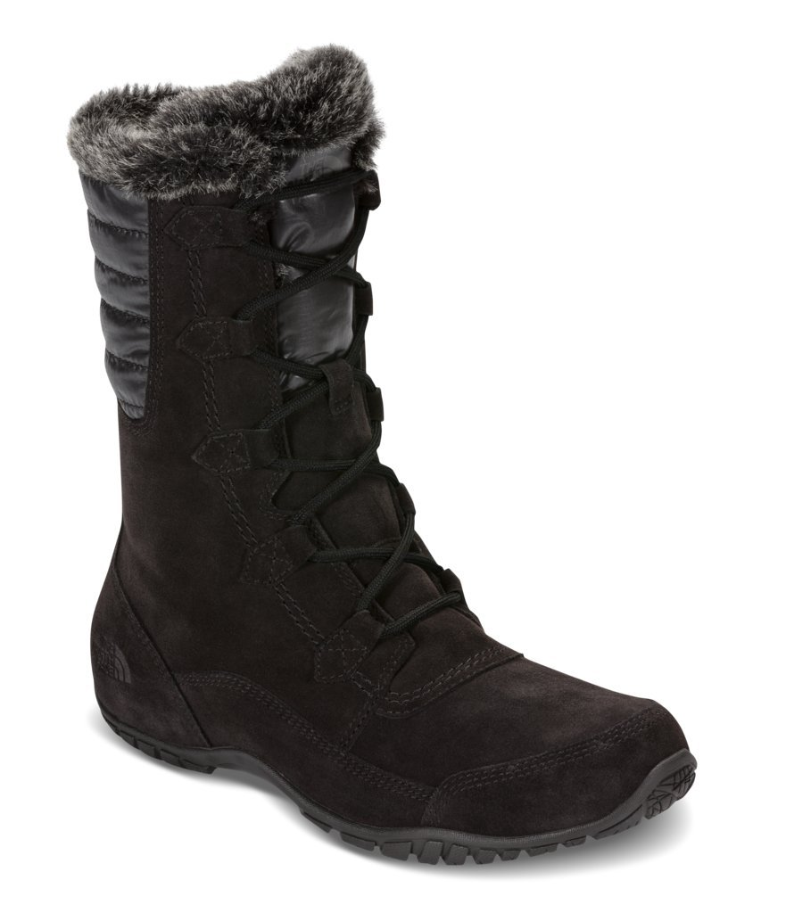 The North Face Womens Nuptse Purna II Boot - TNF Black/Beluga Grey - 6.5 by The North Face