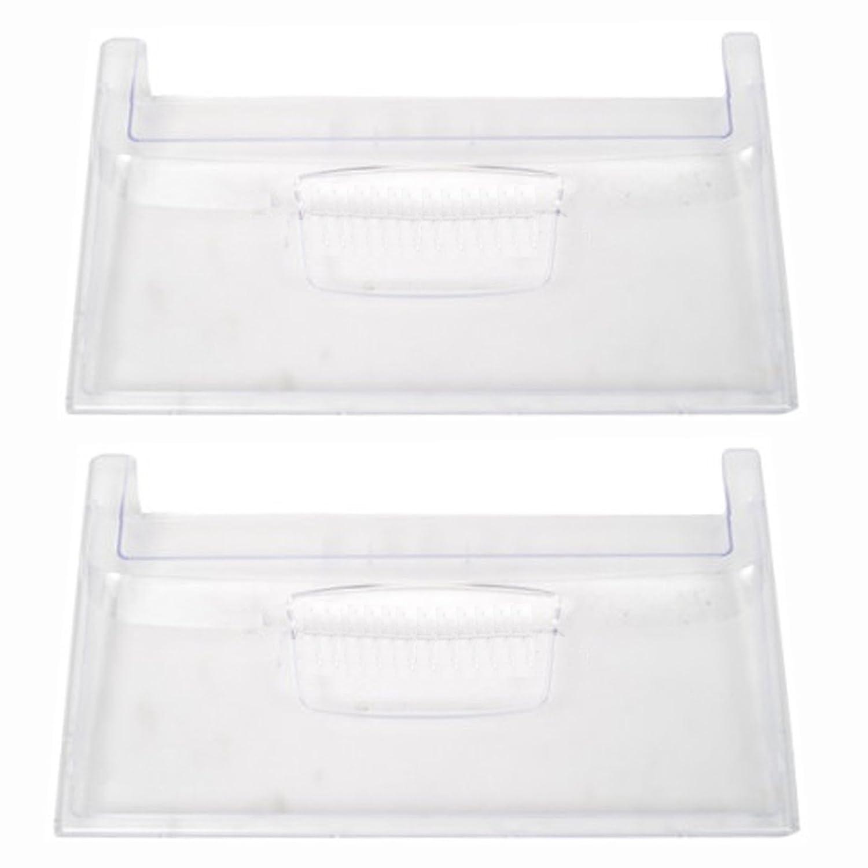 Spares2go Panel frontal de cajón transparente para nevera ...