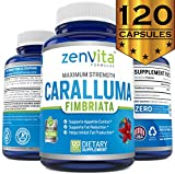 Pure Caralluma Fimbriata Extract 1200 mg - 120 Capsules, Non-GMO & Gluten Free, Maximum Strength Natural Weight Loss Supplement, Appetite Suppressant, Fat Burner