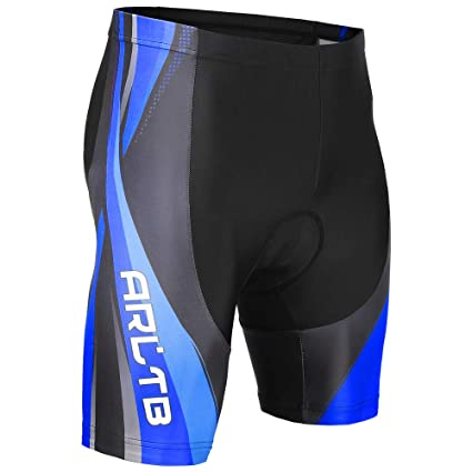 11e8b56f66 Arltb Bike Shorts 5 Sizes Men & Women Gel Padded Cycling Bicycle  Compression Cycle Touring Shorts