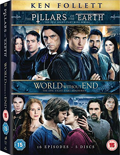 The Pillars Of The Earth and World Without End [DVD] (Pillars Of The Earth Tv Mini Series)