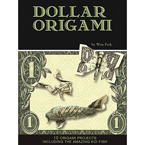 Origami Frog (Dollar Bill Origami Kit - 80 Pg Book Has 10 Projects Shark Fish Camera Frog)
