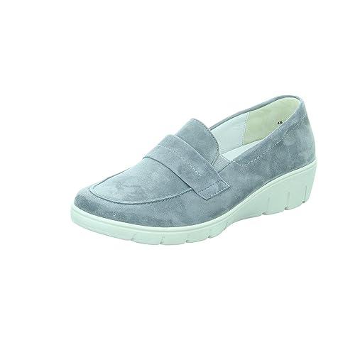 Semler J 7035-042-071 Judith H - Mocasines para Mujer, Color Gris, Talla 36: Amazon.es: Zapatos y complementos