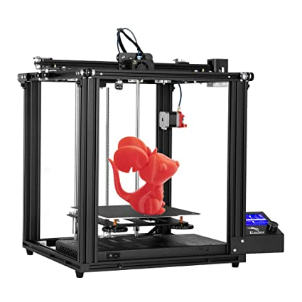 Official Creality Ender 5 Pro 3D Printer Upgrade Silent Mother Board Metal Feeder Extruder and Capricorn Bowden PTFE Tubing 220 x 220 x 300mm Build Volume