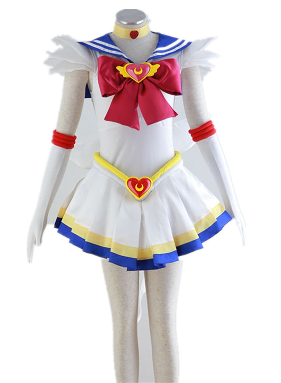 Love Anime Girl Woman Skirt Dress Uniform Cosplay Costume 7 Pcs Set by Love Cosplay (Image #1)