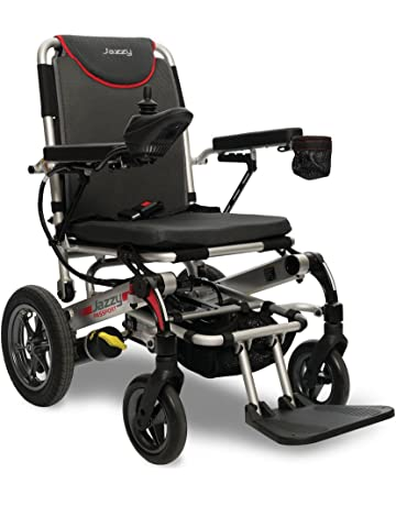 0f2d0367b10d03 Jazzy Passport Power Wheelchair Folding Lightweight Compact Foldable