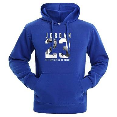 4b60f45871fcab Jordan Hoodie Men Men Sportswear Pullover Hip Hop Mens Tracksuit Sweats  M-3XL Blue