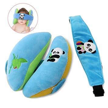 Cofit Almohada Suave para el Cuello del Bebé con Malla de Aire Respirable Diseñado para Cochecitos, Asientos de Automóviles, Columpios para Bebés: ...