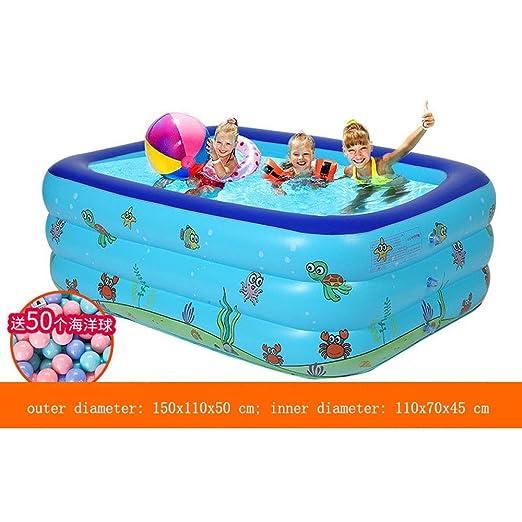 BATHTUPA Arena Piscina Hinchable para niños y Adultos, Gran ...