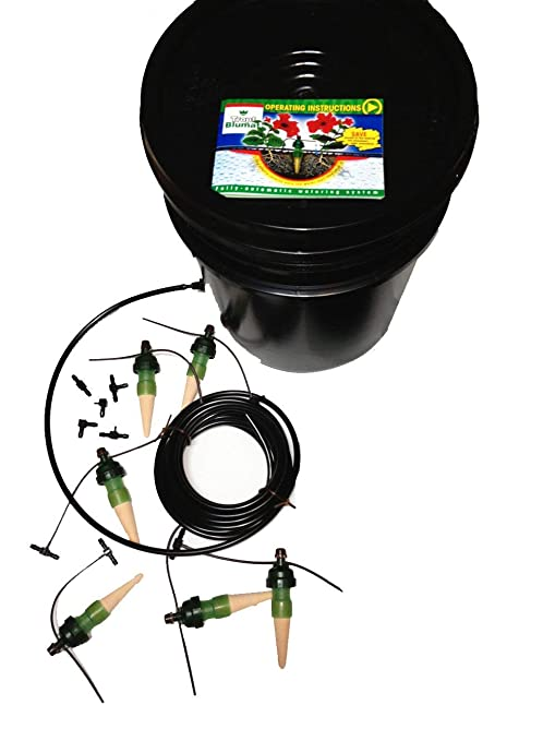 Made in Austria Deluxe Full Loop Kit Blumat Great for Automatic Vacation Watering 12 Plant Watering System