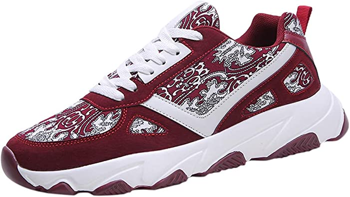 Poamen - Zapatillas de Running para Hombre, Ligeras, con amortiguación de Aire, para Fitness, absorción de Impactos, Deportivas, Caminatas, Deportes, Caminatas, Color Negro, Talla 38 2/3 EU: Amazon.es: Zapatos y complementos